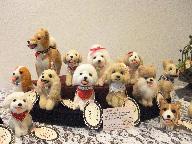 画像:手作りの人形